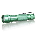 KINFIRE K01R XML T6 Flashlight w/ Clip, 18650 Battery Charger - Green