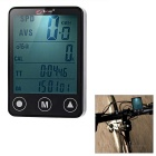 "BOGEER YT-308 2"" Touch Screen 24-Function Water-Resistant Wireless Bike Computer - Black (1*CR2032)"