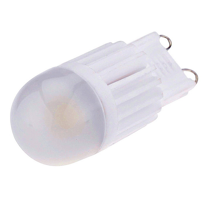 Dimmable G9 3W Warm White LED Light - White (AC 220~240V)