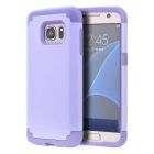Drop Resistance TPU Back Case for Samsung Galaxy S7 Edge - Purple