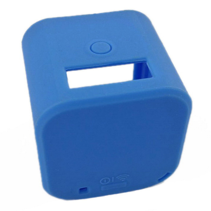 Soft Silicone Case Protective Cover for GoPro Hero 4 Session - BlueBags &amp; Cases<br>Form  ColorBlueQuantity1 DX.PCM.Model.AttributeModel.UnitMaterialSiliconeShade Of ColorBlueCompatible ModelsOthers,GoPro Hero 4 SessionWater ResistantFor daily wear. Suitable for everyday use. Wearable while water is being splashed but not under any pressure.Anti-ShockYesSizeOthers,4x4x4Dimension4x4x4 DX.PCM.Model.AttributeModel.UnitInner Dimension3.6x3.6x3.6Packing List1 x Case<br>