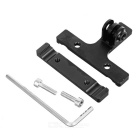 Aluminum Alloy Saddle Mounting Clip Bicycle Seat Post Clip - Black