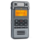 "Practical Digital Voice Recorder w/ 1.2"" LCD / 8GB Memory - Grey"