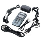"Digital Voice Recorder w/ 1.2"" LCD / 8GB Memory - Grey"