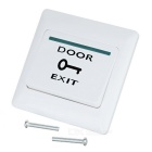 Door Exit Push Release Button Switch for Access Control System - White