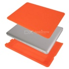 "Matte Plastic Hard Protective Case for MACBOOK PRO 15.4"" - Orange"