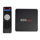 MX PLUSII Google TV Player w/ 1GB RAM, 8GB ROM - Black (US Plug)