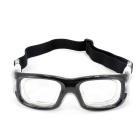 Panlees JH0042 Prescription Lens Accepted Ball Games Goggle - Black