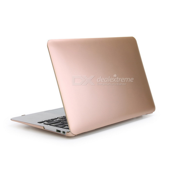 "Plastic Hard Protective Case for MacBook Air 13.3"" - Gold"