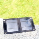 Universal Portable Solar Panel USB 3.5W Charger - Black