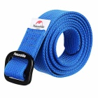 NatureHike Outdoor Casual Tactical Quick-drying Nylon Belt - Blue (130cm)