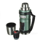 NatureHike 304 Stainless Steel Vaccum Cup for Camping - Black (1L)