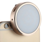 Mini Smart Mobile Phone Video Photo Dimmable LED Fill Light - Golden