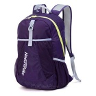 NatureHike NH15A119-B 22L Hiking Daypack Folding Backpack - Purple