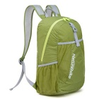 NatureHike NH15A119-B 22L Hiking Daypack Folding Backpack - Green