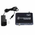 1080P AHD para HDMI / VGA / CVBS HD Video Converter - Black
