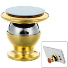 Car Mount Magnetic Hanging Type Phone Holder - Golden