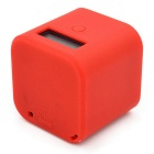 Anti-Shock Soft Silicone Case Protective Cover for GoPro Hero 4 Session - Red