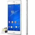 "Sony XPERIA Z3 Dual D6633 5.2"" Quad-Core 20.7MP 4G 16GB Phone - White"