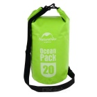 NatureHike Outdoor Sports Rafting saco impermeável - verde (20L)