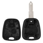 Qook JHCV30001 Entry Key Fob remoto Shell Case w / 2 Button - Preto