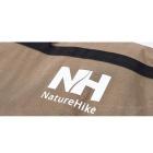 NatureHike Ultra Light Folding Nylon Storage / Carrying Bag - Brown
