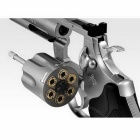 Tokyo Marui Colt Python .357 Magnum Stainless 4 Inches White Silver
