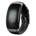 "Fashion Smart Wrist Watch / Digital Voice Recorder w/ 0.6"" Screen, 16GB Memory - Black"