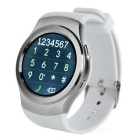 "Card / TF NO.1 G3 SIM suportados inteligente Watch Phone w / 1.3 ""IPS - Branco"
