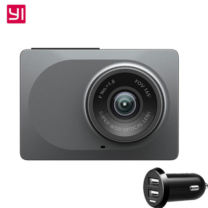 Xiaomi Yi 2.7 1080P ADAS Wi-Fi Car DVR Camcorder - GreyCar DVRs<br>Form ColorGreyModelYCS.1015.CNQuantity1 DX.PCM.Model.AttributeModel.UnitMaterialPC / ADSChipsetOthers,A12Screen SizeOthers,16:9Other FeaturesWi-Fi,Motion Detection,Microphone,Loop Record,Others,ADAS, emergency recording, crash sensor, sound recorder, high-precision 3-axis sensor, speakerScreen Resolution:1920 x 1080,2304*1296 DX.PCM.Model.AttributeModel.UnitCamera Pixel3-4.9MP DX.PCM.Model.AttributeModel.UnitWide Angle150°-169°Camera Lens1Image SensorCMOSImage Sensor SizeOthers,3.0*3.0um, 4000mV/lux-sCamera Pixel3.0MPWide AngleOthers,165Screen Size2.7 inchesVideo FormatMP4Decode FormatH.264Video Resolution1080FHD(1920 x 1080)Video Frame Rate30,60ImagesJPEG,JPGStill Image ResolutionOthers,2304 x 1296Audio SystemMonophonyMicrophoneYesAuto-Power OnYesLED QtyNoneG-sensorYesMax. CapacityOthers,64GBStorage ExpansionTFAV InterfaceOthers,Micro USBData interfaceMicro USBWorking Voltage   1A / 5 DX.PCM.Model.AttributeModel.UnitBattery Capacity240 DX.PCM.Model.AttributeModel.UnitMenu LanguageChinese SimplifiedPacking List1 x Xiaoyi smart car DVR1 x Charging cable (3.5m)1 x Mounting bracket1 x Car charger 1 x Chinese manual<br>