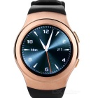 "NO.1 G3 MTK2502 SIM/TF Card Supported Smart Watch Phone w/ 1.3"" IPS, Heart Rate Monitor - Golden"