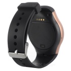 "NO.1 G3 SIM/TF Card Supported Smart Watch Phone w/ 1.3"" IPS - Golden"