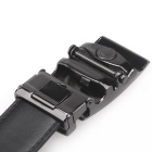 Fanshimite A20 Men's Automatic Buckle Cowhide Belt - Black (130cm)