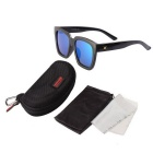 Reedoon H671 Outdoor UV400 Protection Sunglasses - Black + Blue