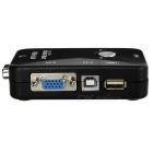 MT-201UK-CH 2-i-1-out 2-Port USB 2.0 KVM Computer Switch - Sort