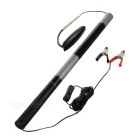 Portable Retractable 24W 5.2m Outdoor Camping Lamp White Light - Black