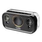Stereo Subwoofer Bluetooth Speaker for Home / Outdoor Use - Black