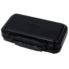 Fishing Equipment Waterproof Fishhook Lure Storage Box - Black
