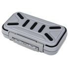Fishing Equipment Waterproof Fishhook / Lure Storage Box - Black Gray