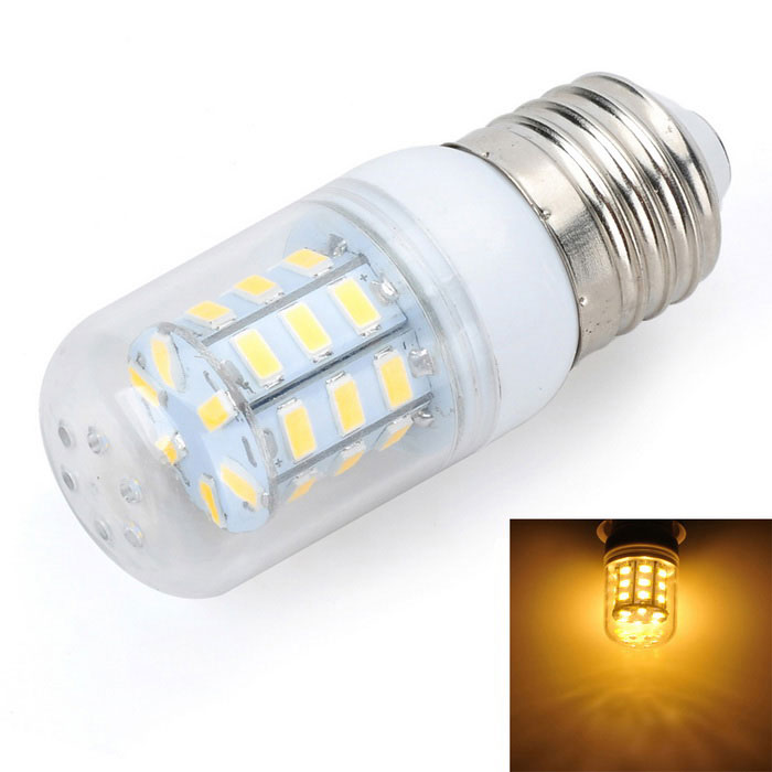 Marsing E27 5W LED Warm White Light Bulb - White + Yellow (AC 220V)
