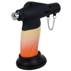 Creative Fashion Small Ornament Outdoor Butane Jet Lighter - Orange