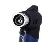 Creative Fashion Small Ornament Outdoor Butane Jet Lighter - Blue