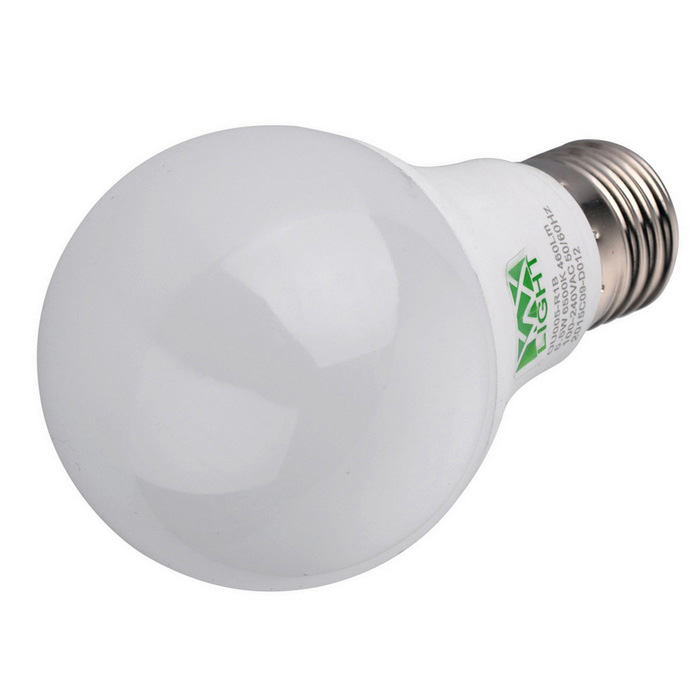 YWXLight E27 5W 460lm 12-2835 SMD Cold White LED Ball Light - White