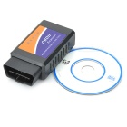 OBDII Bluetooth Car Diagnostic Cable - Black + Blue (DC 12V)