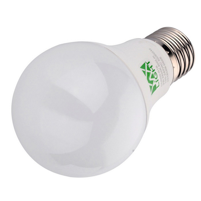 YWXLight E27 9W 800lm 22-2835 SMD Warm White LED Ball Light - White