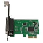 PCI-E to 25Pin Printer Parallel IEEE 1284 Controller Card - Green
