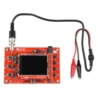 "Hengjiaan DSO138 2.4"" TFT Digital Oscilloscope DIY Kit - Red"