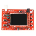 "Hengjiaan DSO138 2.4 ""TFT del osciloscopio digital de DIY Kit - Red"