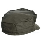 Coton Outdoor Flat Top Men Military Cap Hat - Army Green