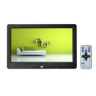 "10.1"" TFT Digital Photo Frame w/ Time Display, Calendar - Black"
